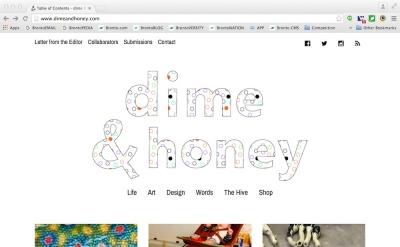 Dime & Honey blog