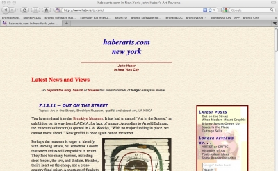 Haberarts art blog