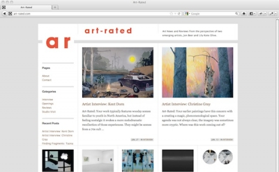 Art-Rated art blog