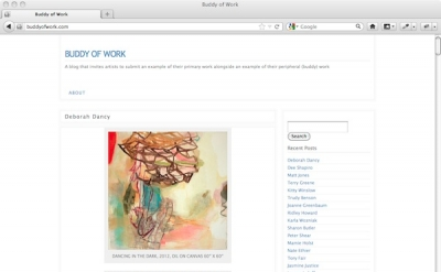 Buddy of Work art blog