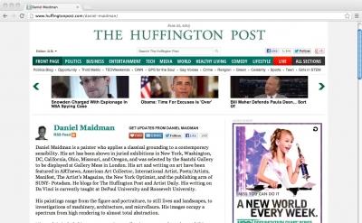 Daniel Maidman, Huffington Post