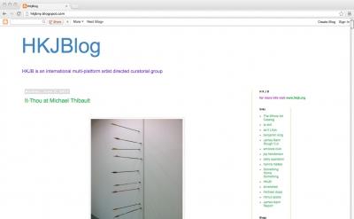 HKJBlog art blog