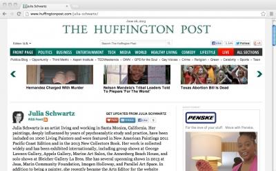 Julia Schwartz: Huffington Post Arts