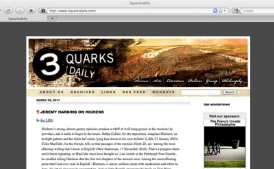 3 Quarks Blog