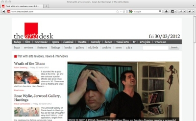 The Artsdesk art blog