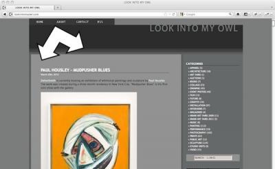 Look Into My Owl Art blog