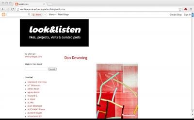 Look & Listen art blog by Yifat Gat