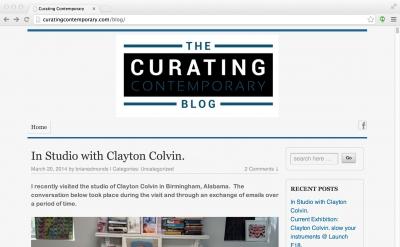 Curating Contemporary Blog
