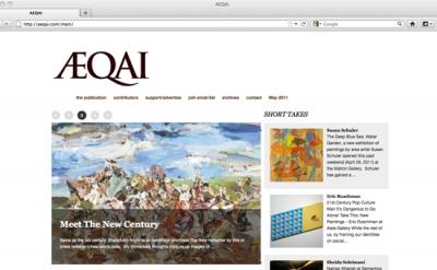 Aeqai art blog