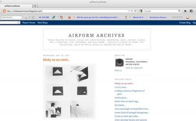 airform archives art blog