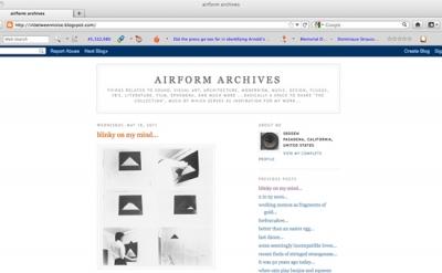 airform archives art blog