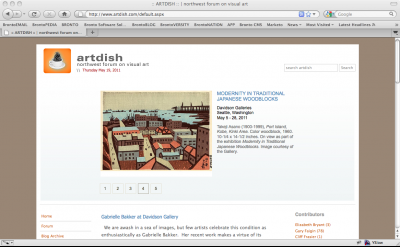 artdish art blog