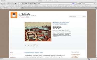 artdish art blog