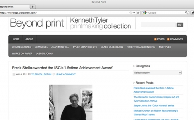 Beyond Print: Kenneth Tyler Printmaking Collection