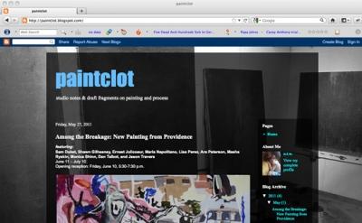 Paintclot art blog