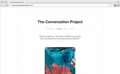 The Conversation Project art blog