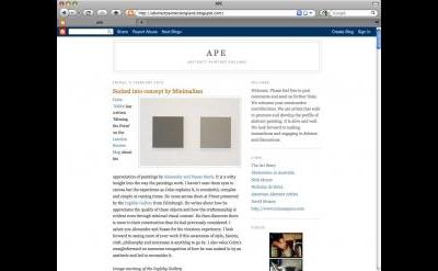 Abstraktion blog