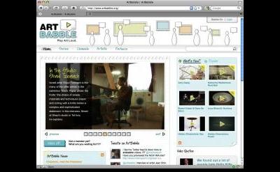 Art Babble video blog