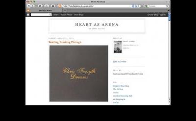 Heart As Arena art blog