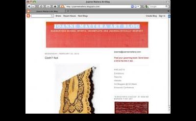 Joanne Mattera Art Blog