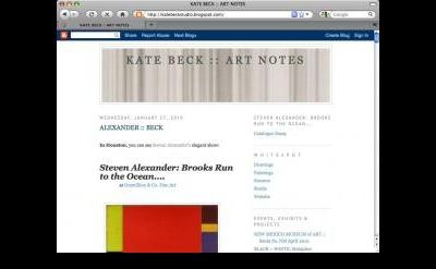 Kate Beck :: Art Notes