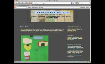 Lisa Pressman Art Blog