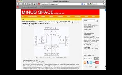 Minus Space blog