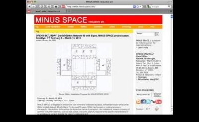 Minus Space blog