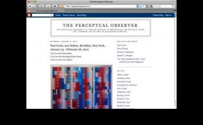 The Perceptual Observer blog
