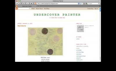 Undercover Painter blog
