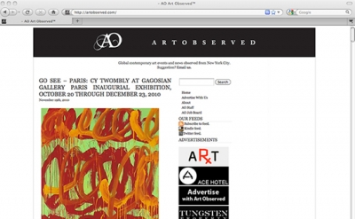 Art Observed Blog
