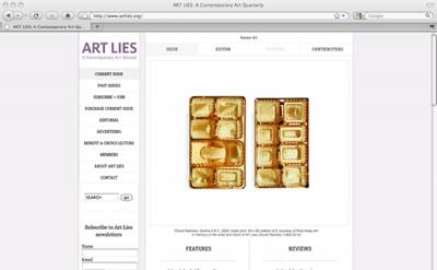 Art Lies Contemporary Art Quarterly