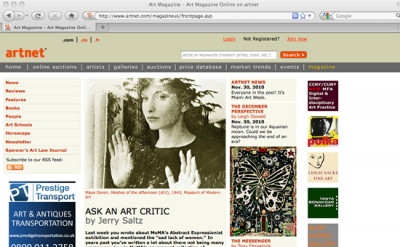 Artnet Magazine