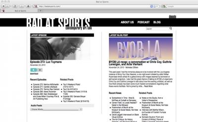 Bad at Sports blog