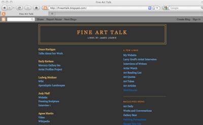 Fine Art Talk
