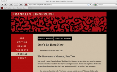 Franklin Einspruch Journal