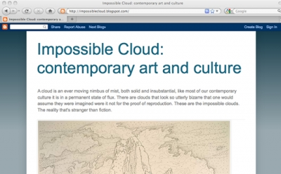 Impossible Cloud art blog