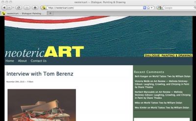 Neoteric Art blog