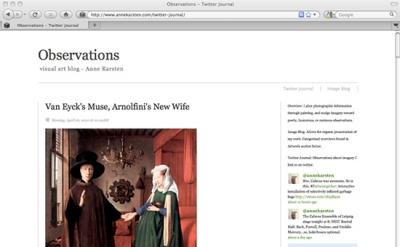 Observations Blog by Anne Karsten