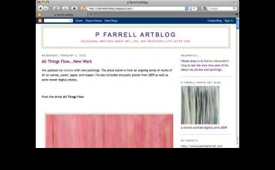 P Farrell Artblog