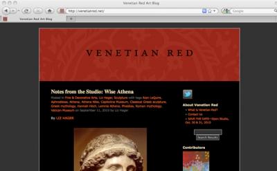 Venetian Red art blog