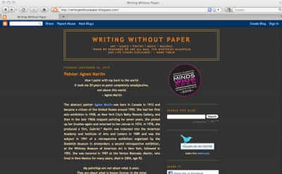 Writing Without Paper Blog