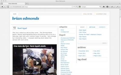 Brian Edmonds Art Blog