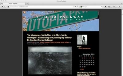 Utopia Parkway art blog