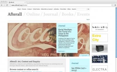 Afterall Arts Magazine Blog