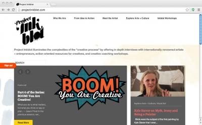 Project Inkblot blog