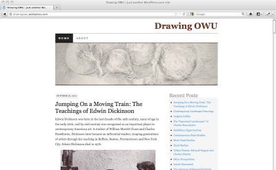 Drawing OWU art blog