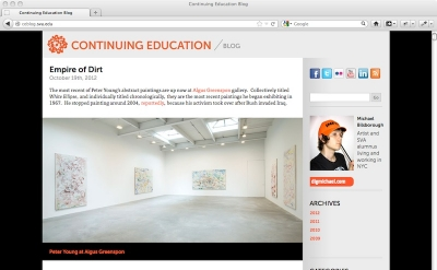 School of Visual Arts Continuing Education Blog