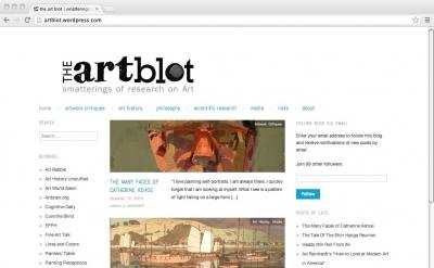 the art blot