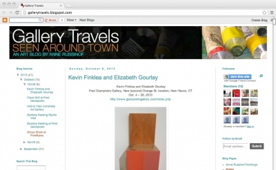 Gallery Travels by Anne Russinof
